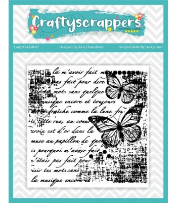 Scripted Butterfly background